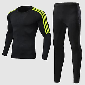 Boys Winter Thermal Underwear Sets Anti-microbial Stretch Warm Clothing Long