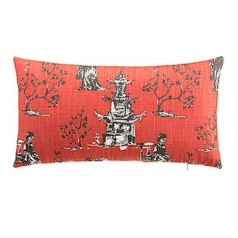 "Imperial Decorative Lumbar Pillow 22"" X 12"", Shanghia"