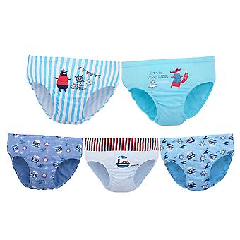 YANGFAN Boy's Printed Briefs 5 Packs