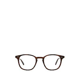 Garrett Leight CLARK matte brandy tort unisex eyeglasses