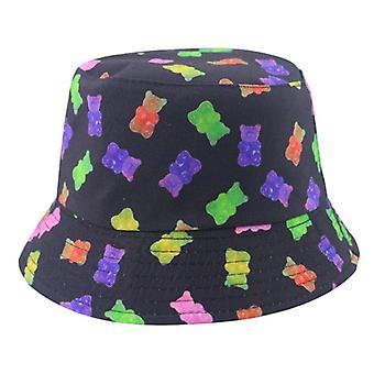 الصيف الجديد بيزلي نمط الصيد الصياد قبعات / النساء الهيب هوب بنما