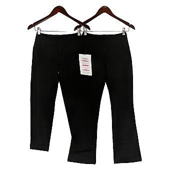 Women with Control Petite Tummy Control Set/2 Pants Black A344735