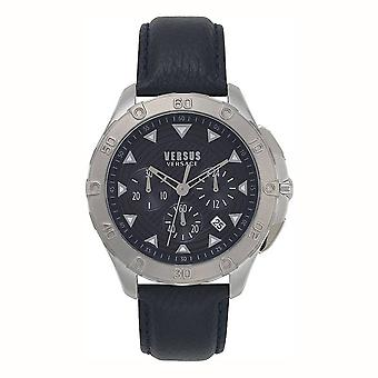 Versus by Versace Men's Watch Wristwatch Simons Town VSP060218 Leather