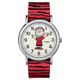 Timex Herrenuhr Timex x Peanuts – Linus TW2R41200