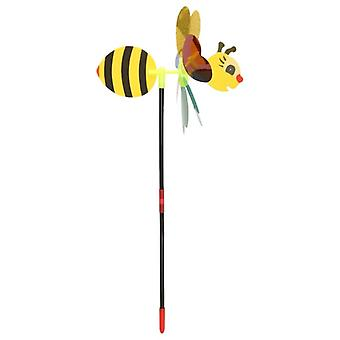 3d Sequins Animal Bee Windmill Wind Spinner Decoration