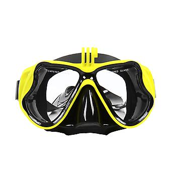 Mimigo Diving Mask, Anti-fog Scuba Mask Tempered Glass Lens, Anti-leak Double Seal Silicone Skirt, Free Diving Mask For Men Women Adults