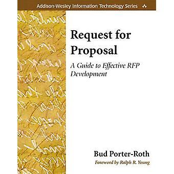 Ehdotuspyyntö - Bud Porin opas tehokkaaseen RFP-kehitykseen