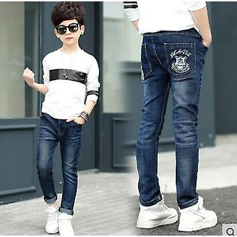 Children Jeans, Solid Thin Denim Baby Jeans For Jeans