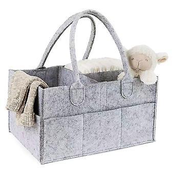Barsel håndtaske, Baby Ble Taske, Nyfødte Nursery Storage, Foldable Ble