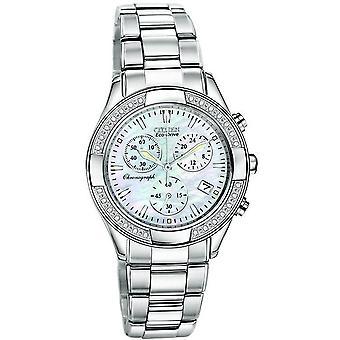 Citizen Eco-Drive Regent Chronograph Ladies Watch FB1220-53D