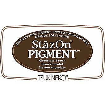 Stazon Pigment Mustetyyny Suklaa Ruskea