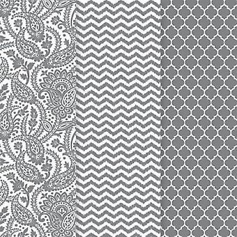 Decoart - Silver Trender Decoupage Papper