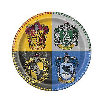 8 Assiettes en carton Harry Potter  23 cm