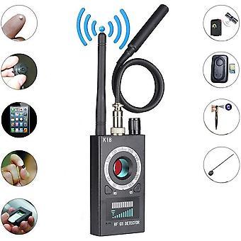 مكافحة جاسوس كاميرا كاشف، RF إشارة كاشف الحشرات، فائقة الحساسية اللاسلكية إشارة ثقب الثقب ليزر GSM عدسة كاشف
