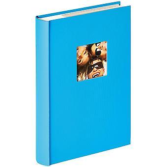 Gerui Fun Memo Slip-in Album for 300 Photos of 10 x 15 cm Size, Textured Paper, Ocean Blue, 24 x