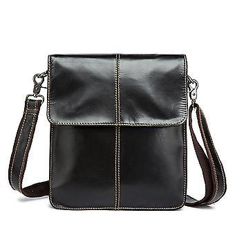 Leather Messenger Shoulder Women Men Bag