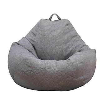 Large Bean Bag Chair Sofa Couch Cover Indoor Lounger No Filling