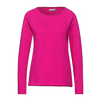 Street One Style Mina T-Shirt, Phlox Pink, 42 Woman