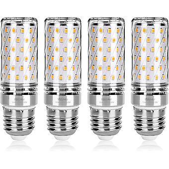 LED Mais Glühbirne, E27 15W Warmweiß 3000K 1500LM, Entspricht Glühlampen 120W, Nicht dimmbar