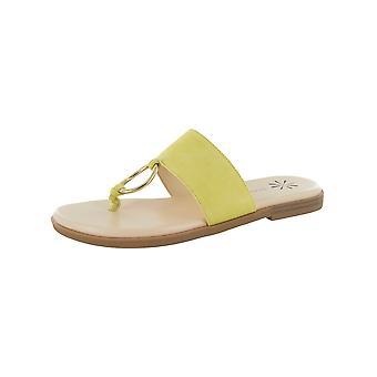 Isaac Mizrahi Live Womens Jasmine Suede Sandal Shoes