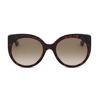 Gucci Cat Eye Sunglasses GG0325S 002 55