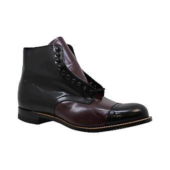 Stacy Adams Madison Cap Toe Boot, Burgundy Multi, 10- EE (00015-641)