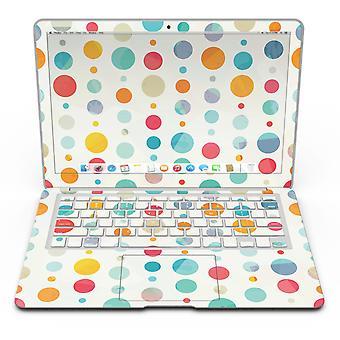 Fun Polka Model - MacBook Air Skin Kit