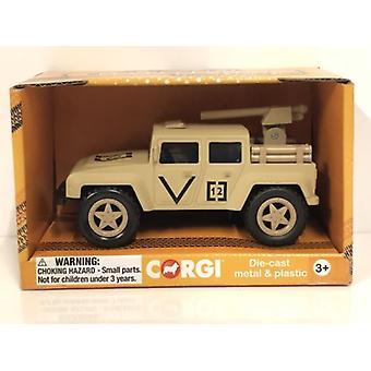 Corgi CHUNKIES CH076 Off Road Military Rocket U.K.Diecast and Plastic Toy