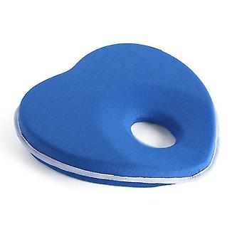 Baby Pillow For Newborn Infant, 3d Memory Shaping Head Pillow(Blue)