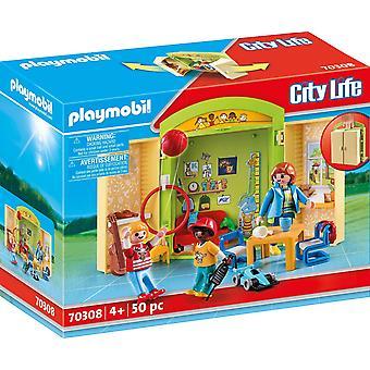 Playmobil 70308 Byliv Før skolegang Lekeboks