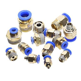 new m5 straight push in pneumatic fitting to connect air compressor parts sm45754