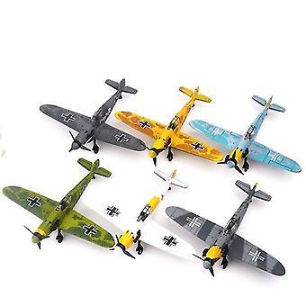 جديد 1pcs bf-109 الحرب العالمية الثانية نموذج مقاتلة ب 109 4D البلاستيك تجميع الطائرات العسكرية بناء sm47219