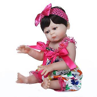 48Cm لينة slicone كامل الجسم لمسة تولد من جديد طفل دمية فتاة بيبي دمية تولد من جديد حمام لعبة تشريحيا الصحيح premie محبوب حجم الطفل