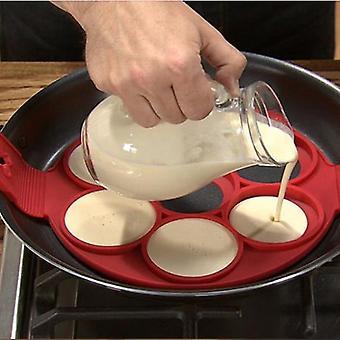 Cocina no tóxica Antiadherente Hornear Huevo Anillo Anillo Panqueque Molde de cocción