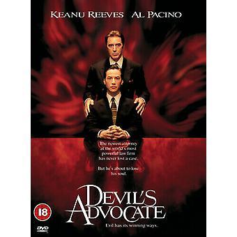 Devils Advocate DVD (1999) Al Pacino Hackford (DIR) cert 18 NEW Region 2