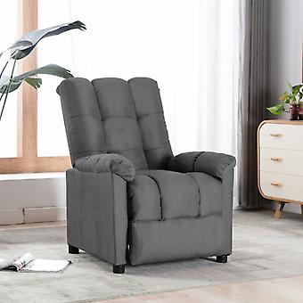 vidaXL Relax tuoli vaaleanharmaa kangas