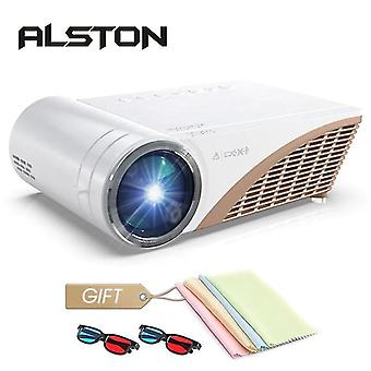 Support 1080P Led projector 4000 Lumens HDMI