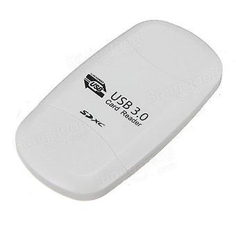 Lector de tarjetas de memoria USB3.0 para SD SDHC SDXC MMC Micro SD T-Flash