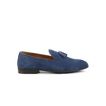 Duca di Morrone - Shoes - Moccasins - ASCANIO-CAM-JEANS - Men - Blue - EU 42