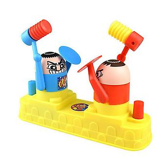Battle Robot Hammer Toys Table Games Pressure Reduction Toy For Family Party Game