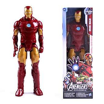 (Iron Man) Marvel Avengers 12 inch Action Figures Titan Hero Series Children Toys Kids M