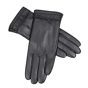 Leather Gloves Motorcycle Women Full Finger Touch Screen Gloves Winter Warm