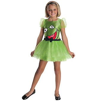 Kermit The Muppets Frog Disney Licensed Girls Costume