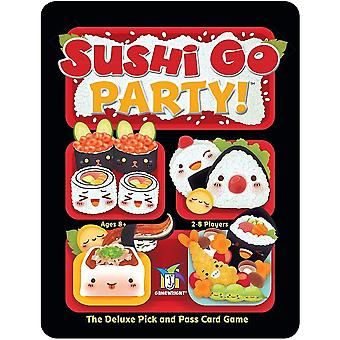 Tile games 419 sushi go party - the deluxe pick and pass card game  multicolour