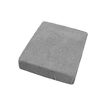 2 Sitzer Sofa Sitz Pad Abdeckung Couch Sofa Kissen Slipcovers Protector (Hellgrau)