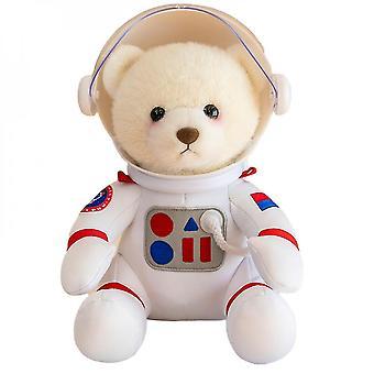 Caraele White Space Bear Doll Plush Toy Astronaut Bear Birthday Gift