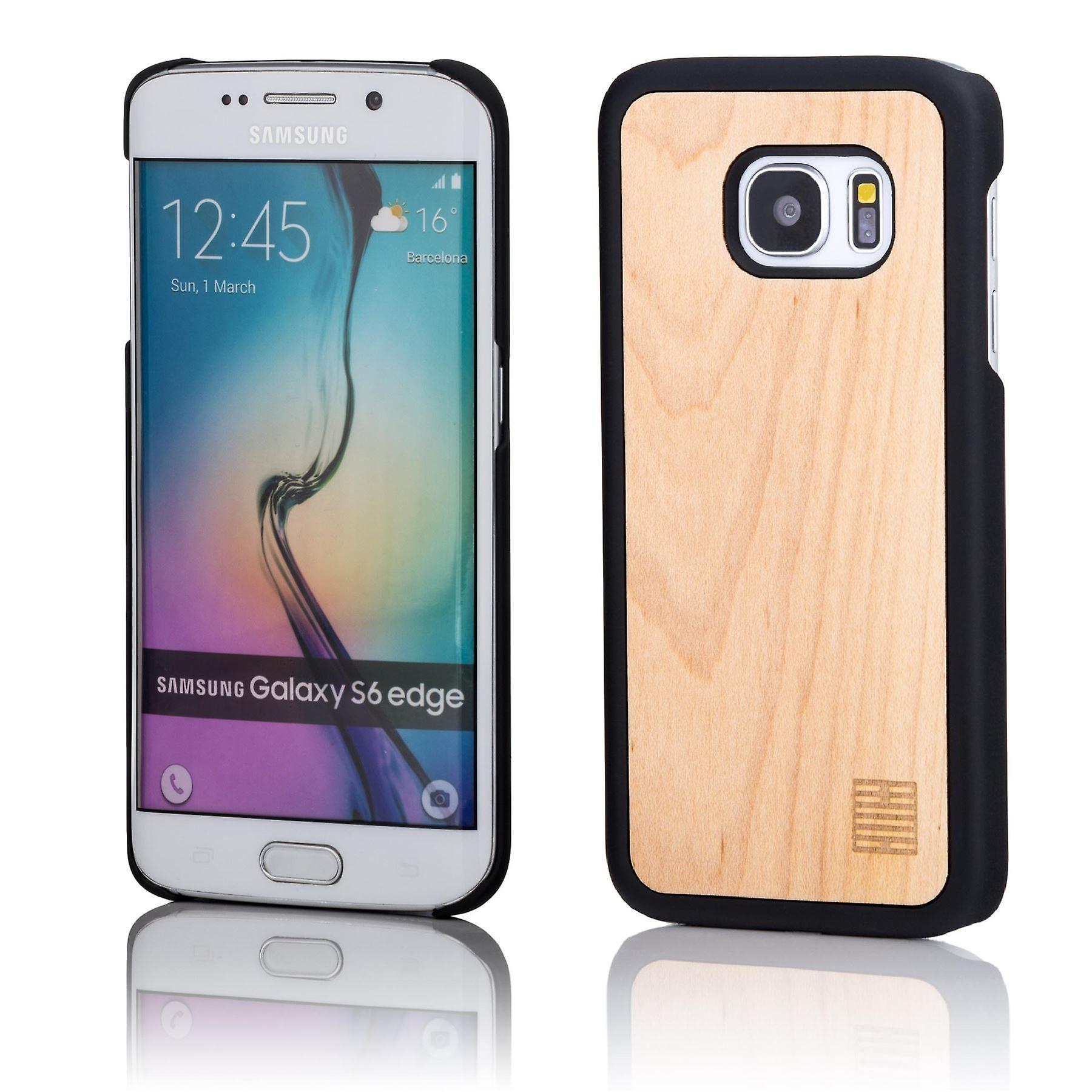 32nd Wooden Back case for Samsung Galaxy S6 Edge (SM-G925) - Maple