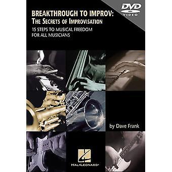 Breakthrough to Improv: The Secrets of Improvisati [DVD] USA import