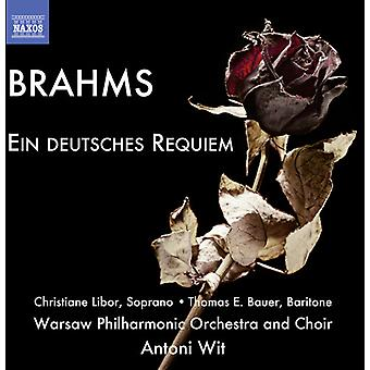 Brahms - Deutsches Requiem [CD] USA import