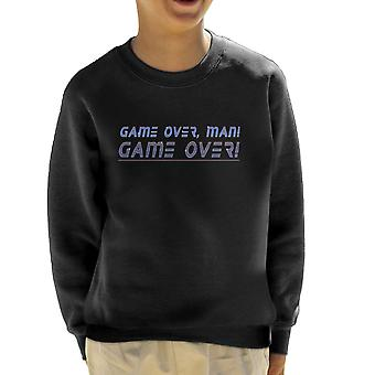 Game Over Man Bill Paxton Aliens Kid's Sweatshirt